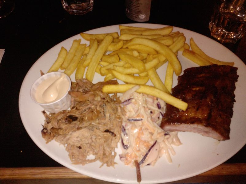 Bodean's ribs and pulled pork