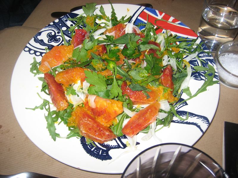 Lex Eat - Blood Orange Salad