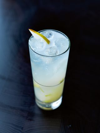 Pear and elderflower  collins